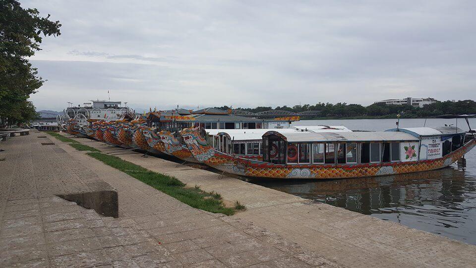 du thuyền sông hương