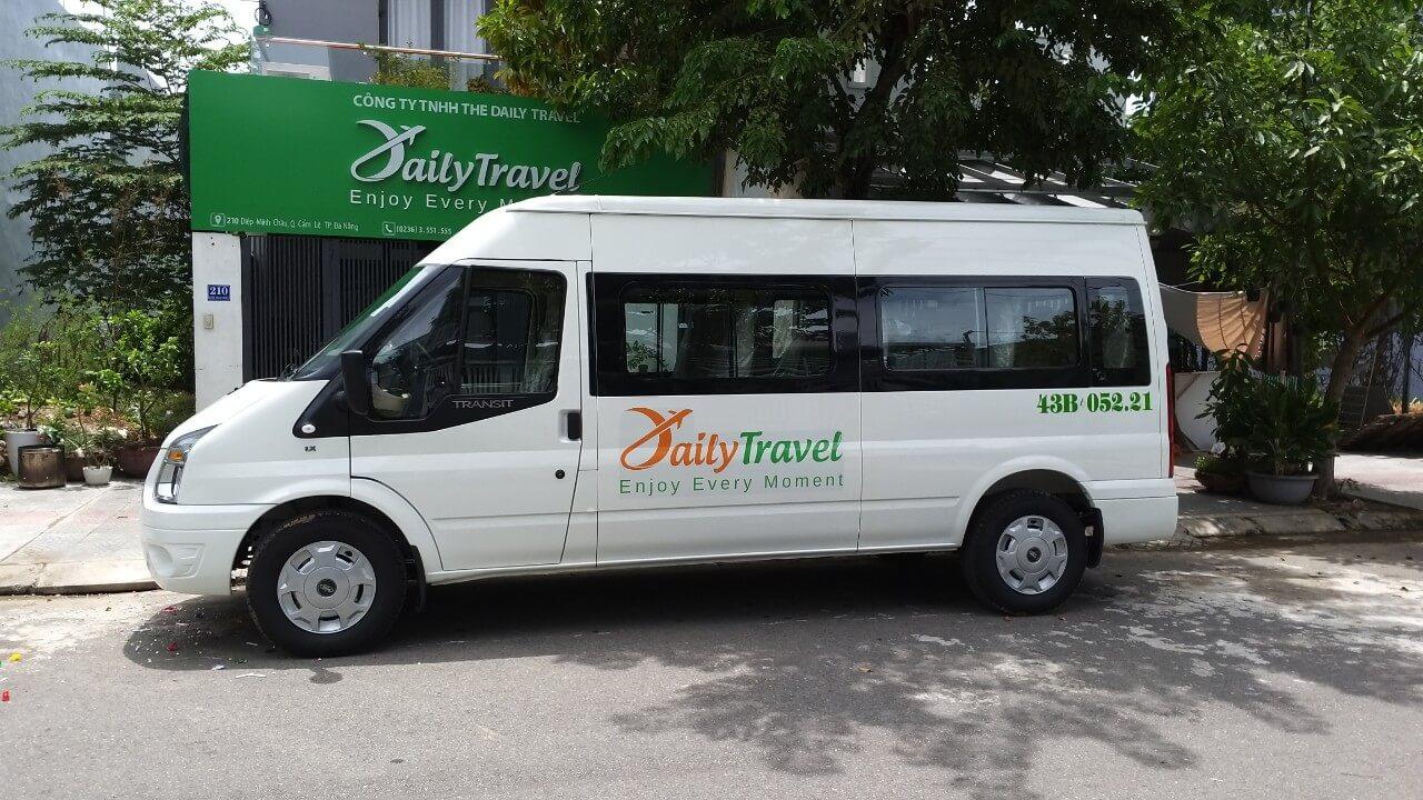 xe bus đi hội an